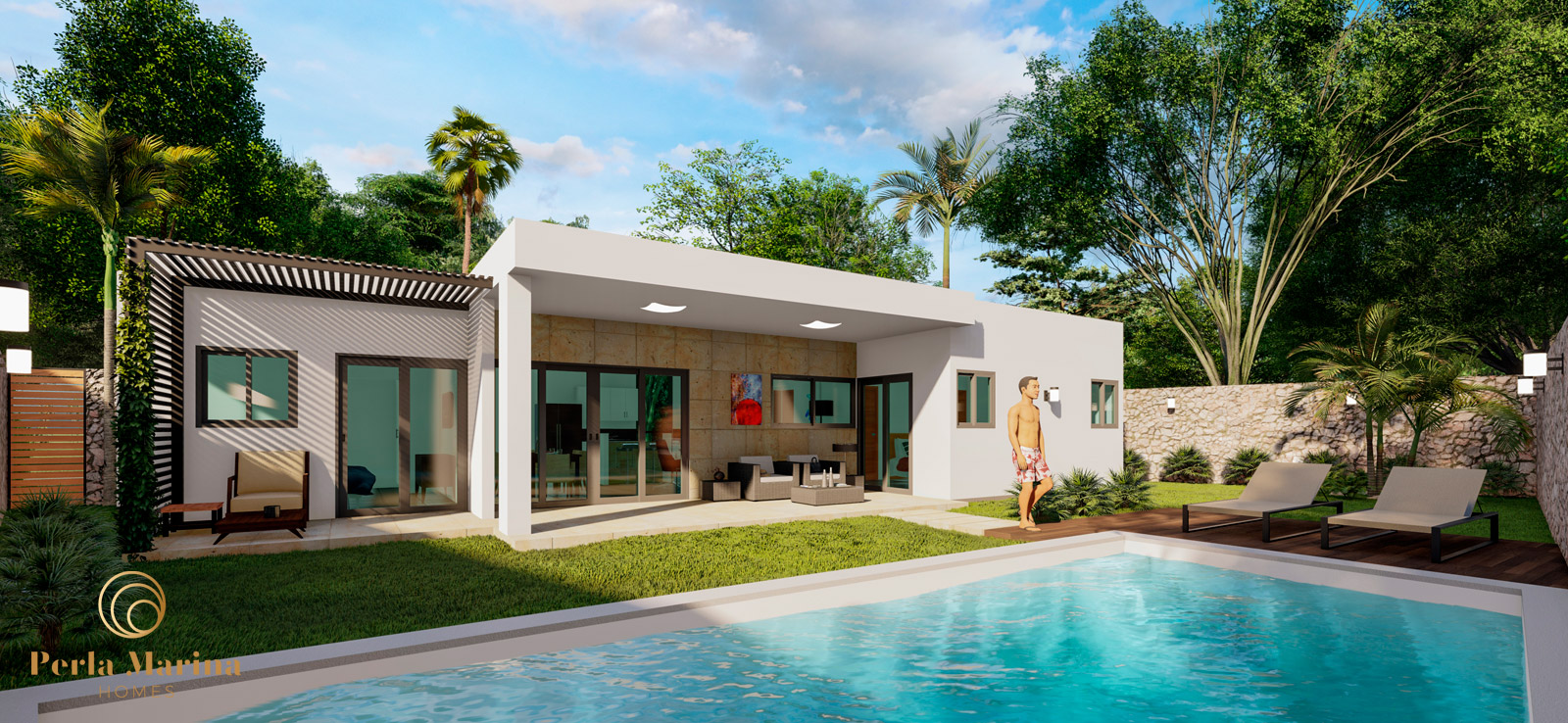 enjoy your own private pool that is included in your pre-sale villa