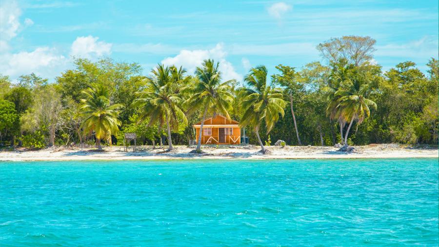 Casa de lujo en la playa en la República Dominicana